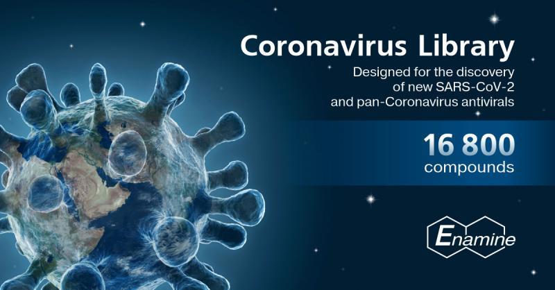 Enamine Ltd. Released Coronavirus Library to Support COVID-19