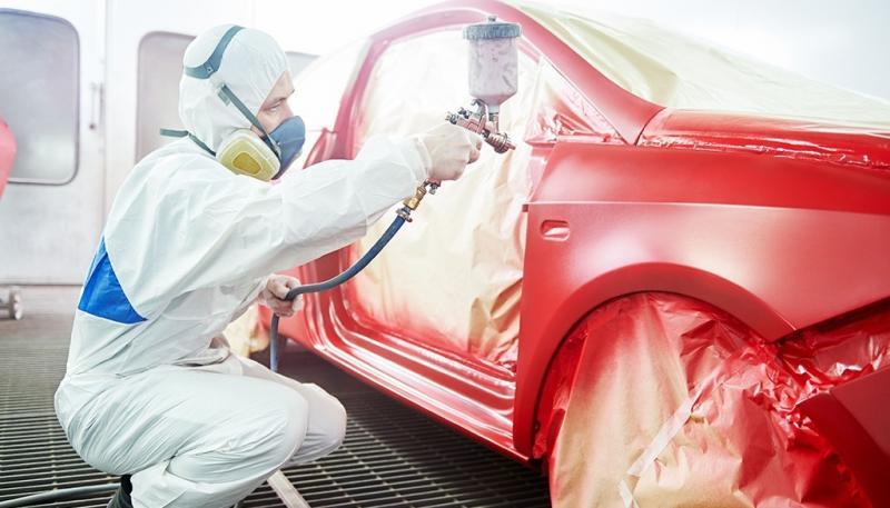 L'application de peinture en aérosol Sydney sur la voiture pour remarquable