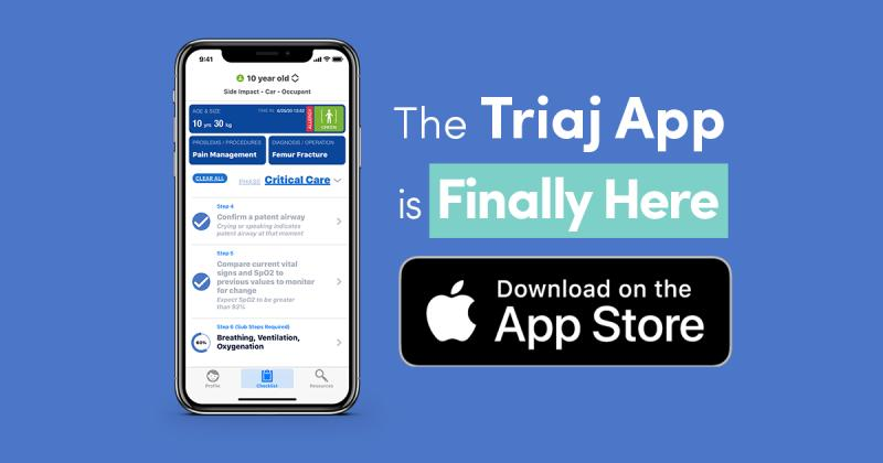 The Triaj App is Finally Here. Download on the App Store.