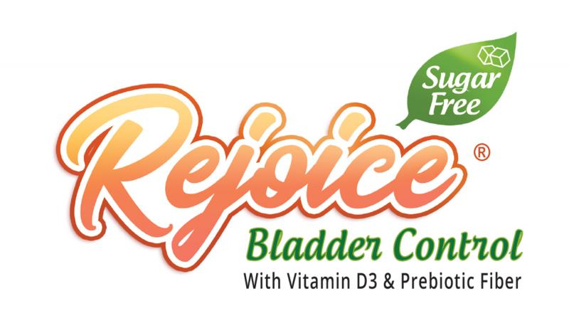 Rejoice® Bladder Control is the first patented and clinically proven over the counter supplement to help reduce bladder leaks.