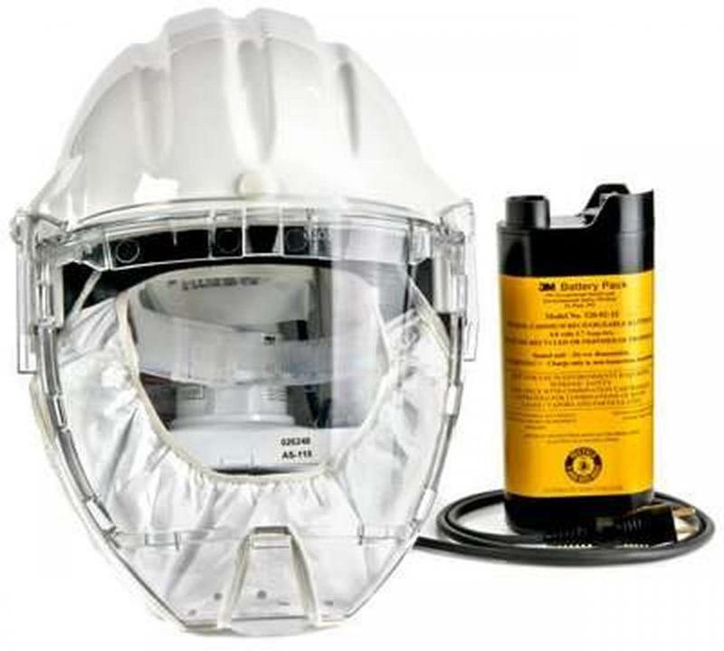 COVID-19 Updated: Powered Air Purifying Respirator (PAPR)