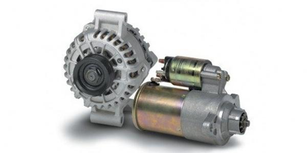 Automotive Starter Motor and Alternator