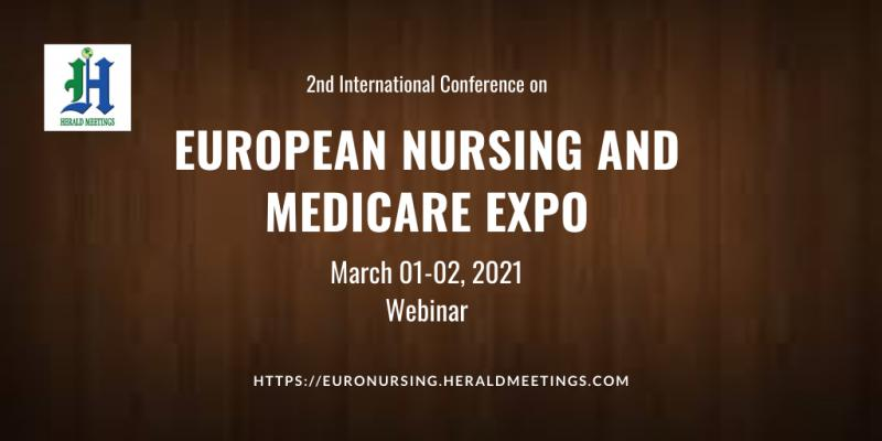 Online Nursing Conferences, Euro Nursing 2021