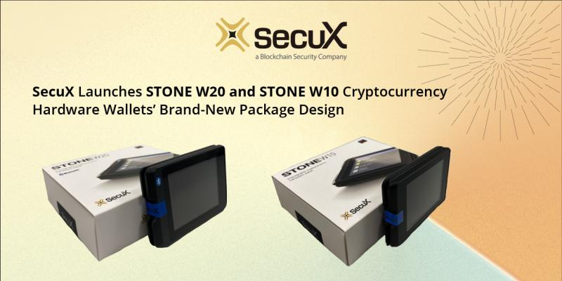 SecuX STONE Hardware Wallet
