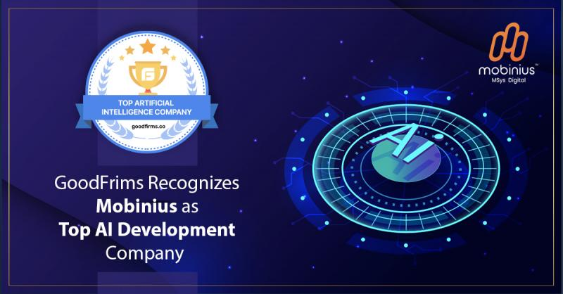 Top Ai Development Company by GoodFirms