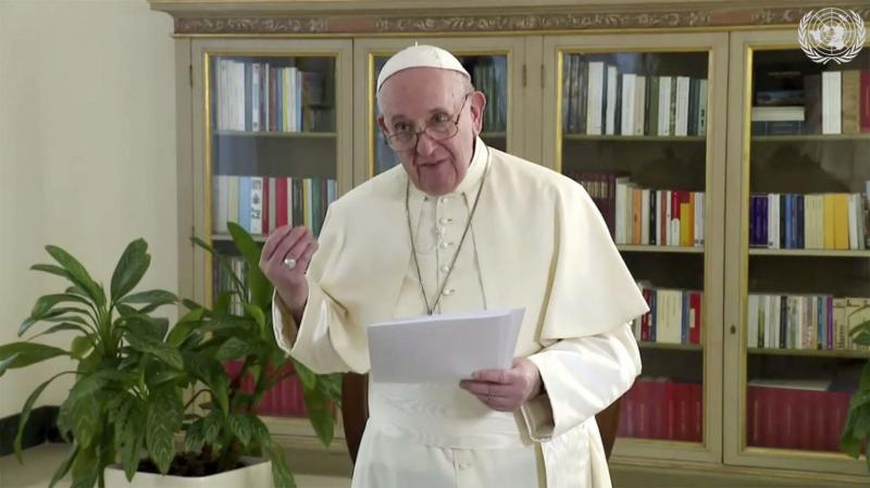 Pope Francis to the UN: We Need the Political Will to Mitigate