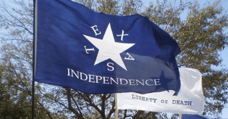 The Texas Independence flag of the Texas Nationalist Movement