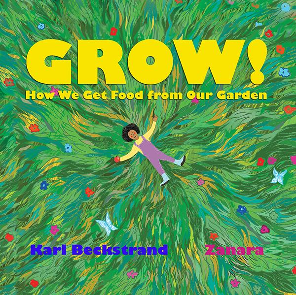 """GROW"" multicultural picture book (#1 New Release) explains gardening to kids"