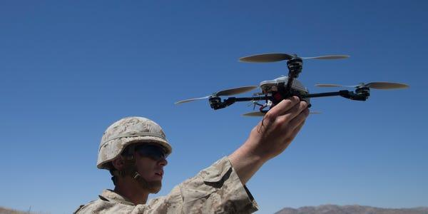 Military Drones Market by Type, Range, Application,