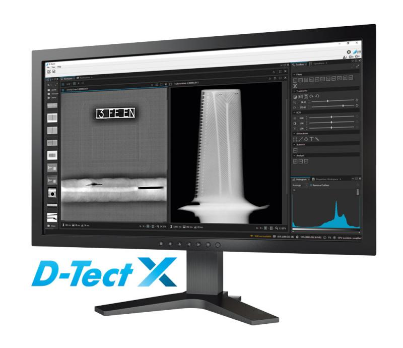 X-ray inspection software D-Tect X