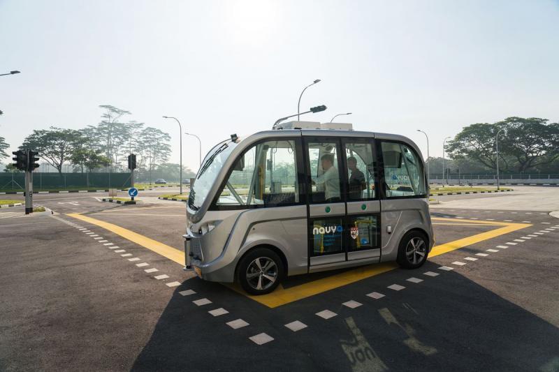 Semi-Autonomous & Autonomous Bus Market by Type, Automation,