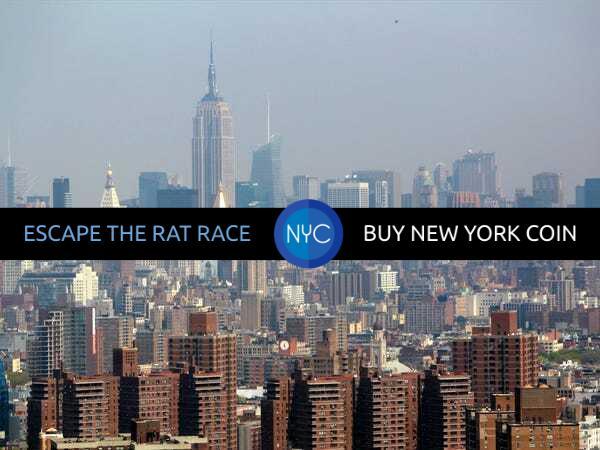new york coin, nyc coin, nycoin, no fee crypto, bitcoin, retail crypto