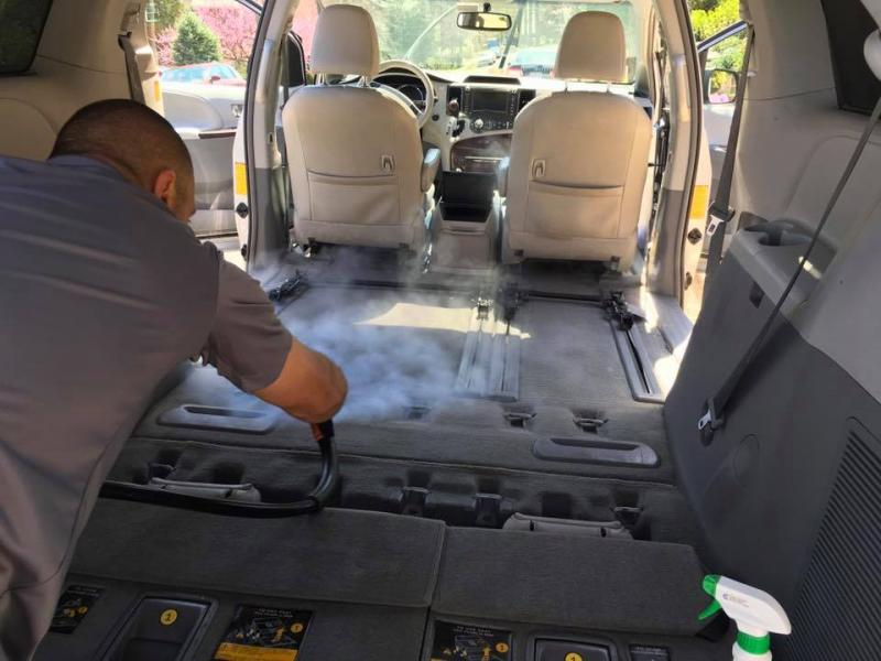 Fairfax Mobile Steam Car Detailing Develops An Interior Only