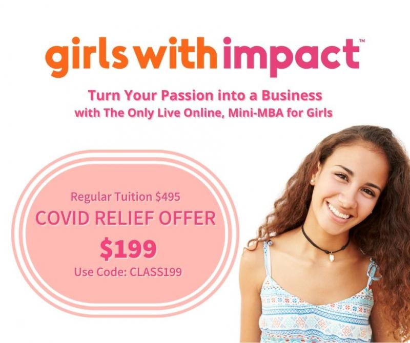 Girls With Impact Academy only $199 for 10 Weeks!