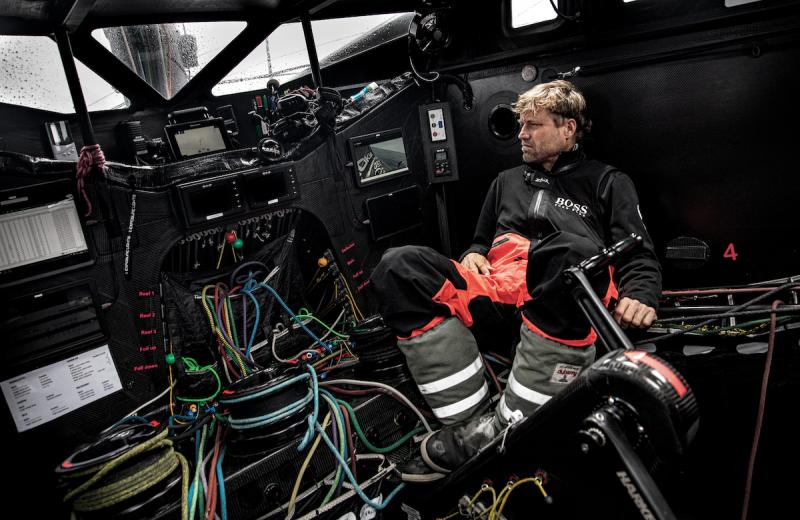 Gleistein Ropes Official Rope Supplier on board of HUGO BOSS – Image credit: ALEX THOMSON RACING