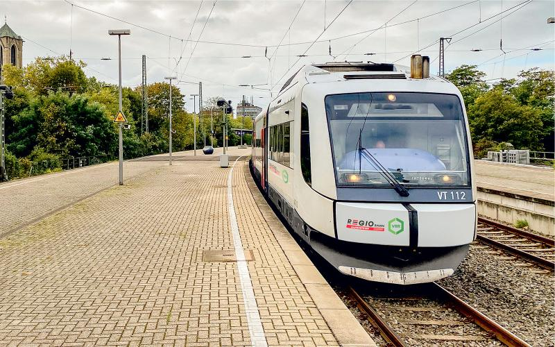 In future, Regiobahn will use IVU.rail for the standardised planning of its vehicles and personnel (Image: Regiobahn)