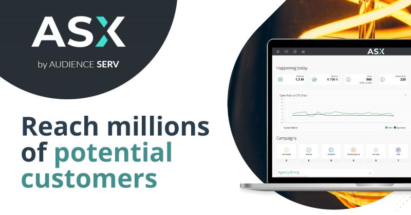 ASX: Reach more than 100 Mio potential clients in just a few clicks