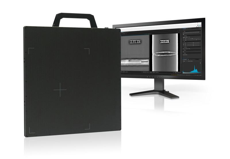 The DRC 2430HE NDT works with the new generation of DÜRR NDT's proven X-ray inspection software D-Tect X