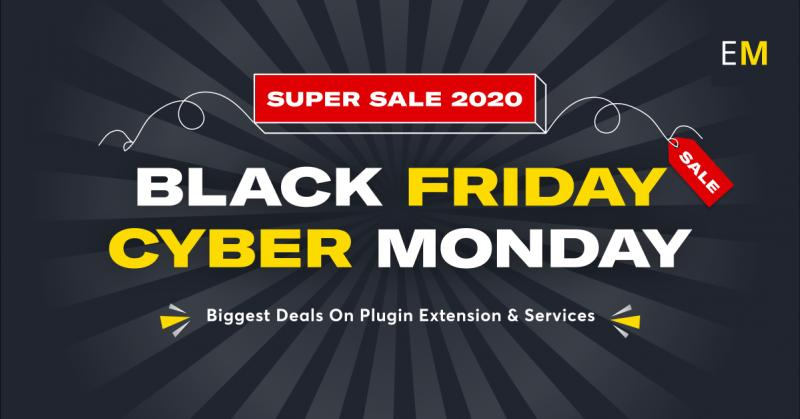 Black Friday sale on all Magento plugins and ecommerce services