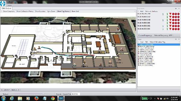 Indoor Location Software