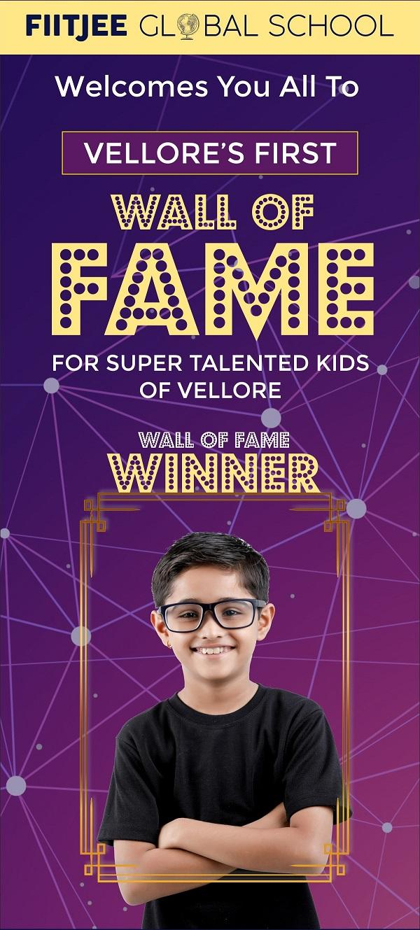 Wall of Fame Vellore