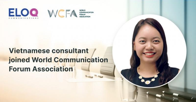 Dr. Clāra Ly-Le, Managing Director of EloQ Communications joined World Communication Forum Association's Global Executive Board.