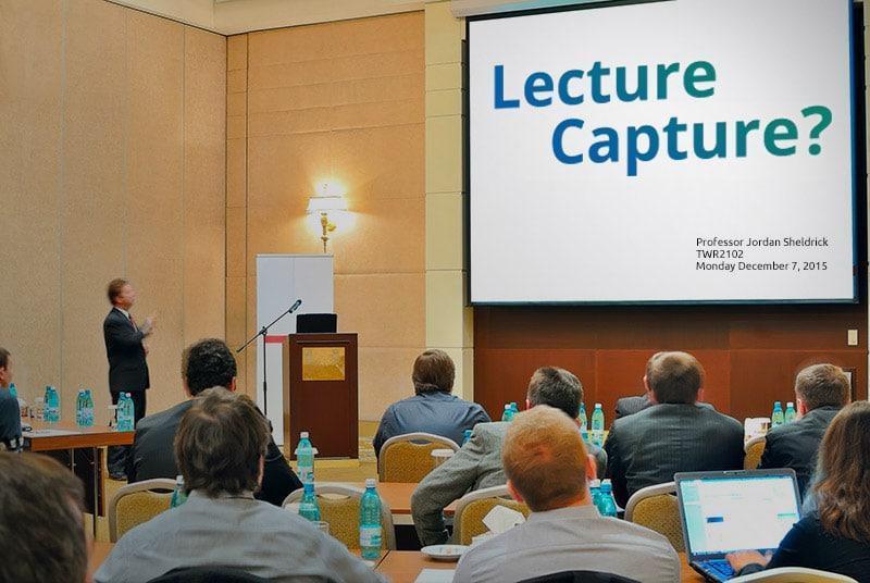 Lecture Capture Software Market