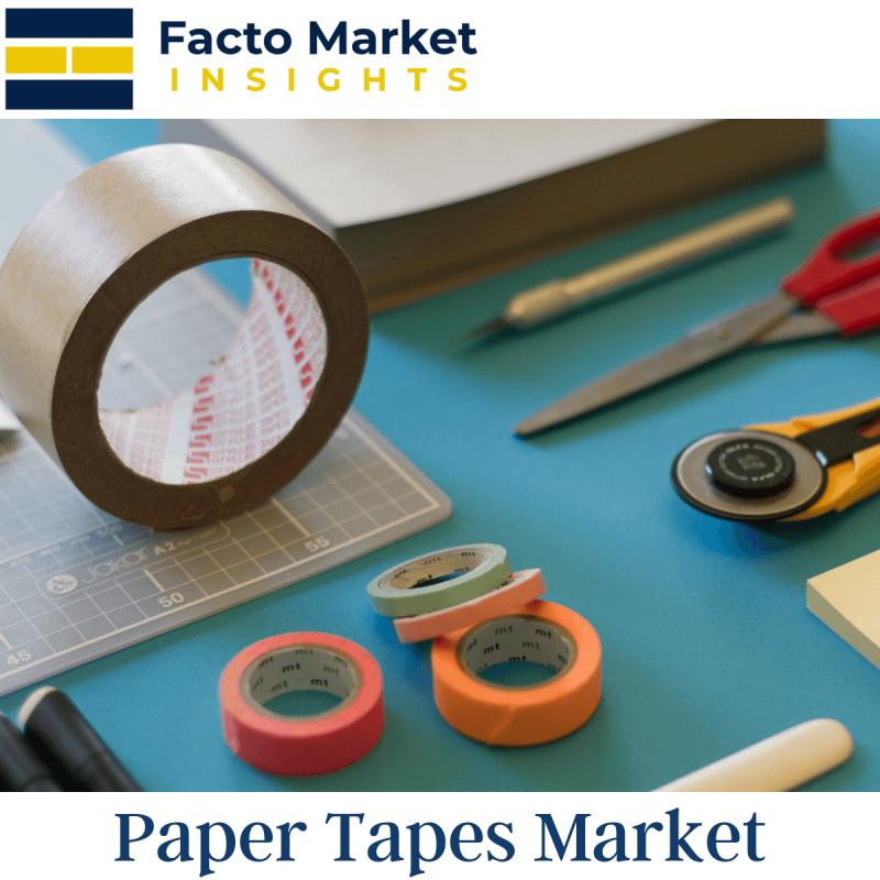 Paper Tapes Market Size, Industry Trends, Share and Forecast