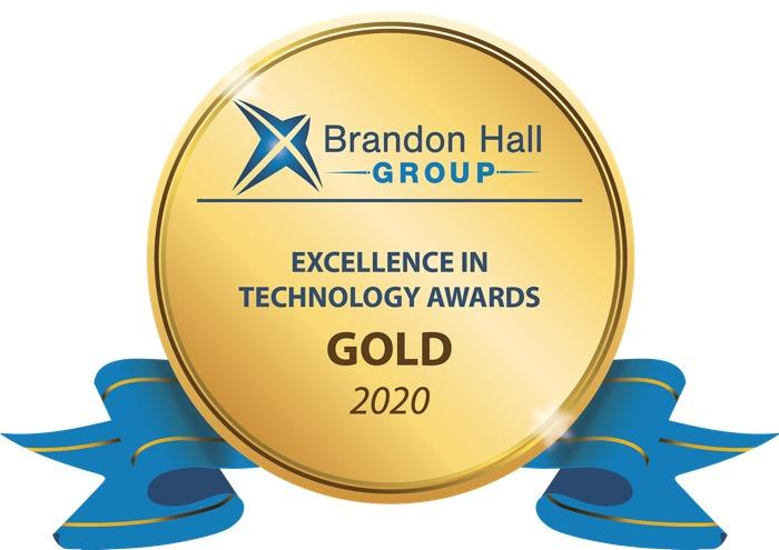 Brandon Hall Excellence in Technology award