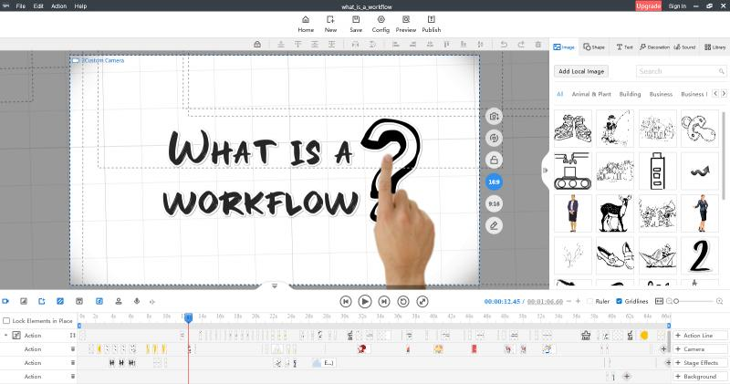 Mango Animate empowers users with intuitive whiteboard animation software to explain their messages through hand-drawn animations.