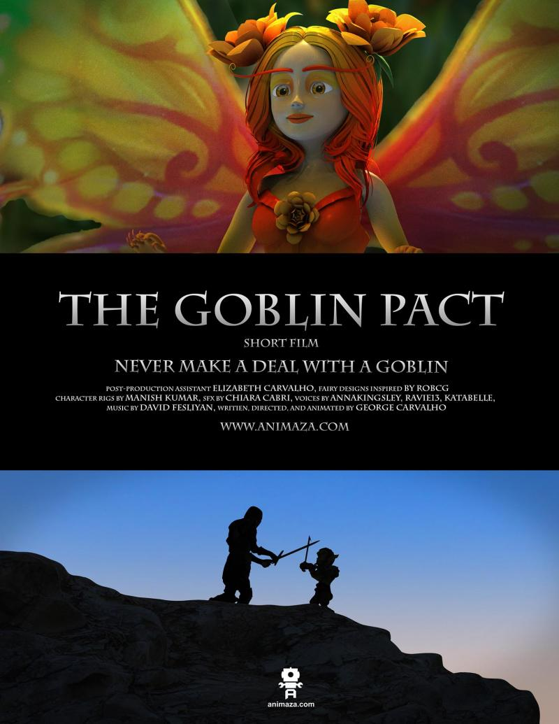 Poster for the Animated Short Film
