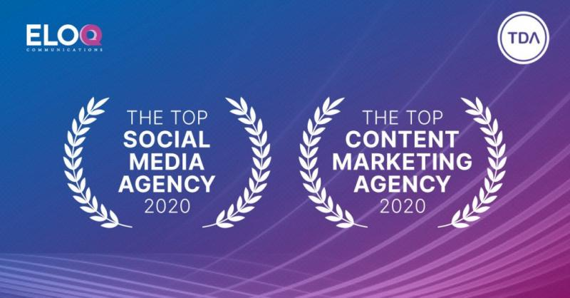 EloQ Communications, a PR and marketing agency from Vietnam, has been recognized as one of the best agencies in 2020 in two catego