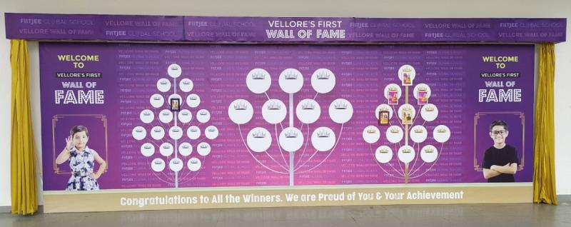 Wall of Fame takes Vellore Students by Intellectual Storm