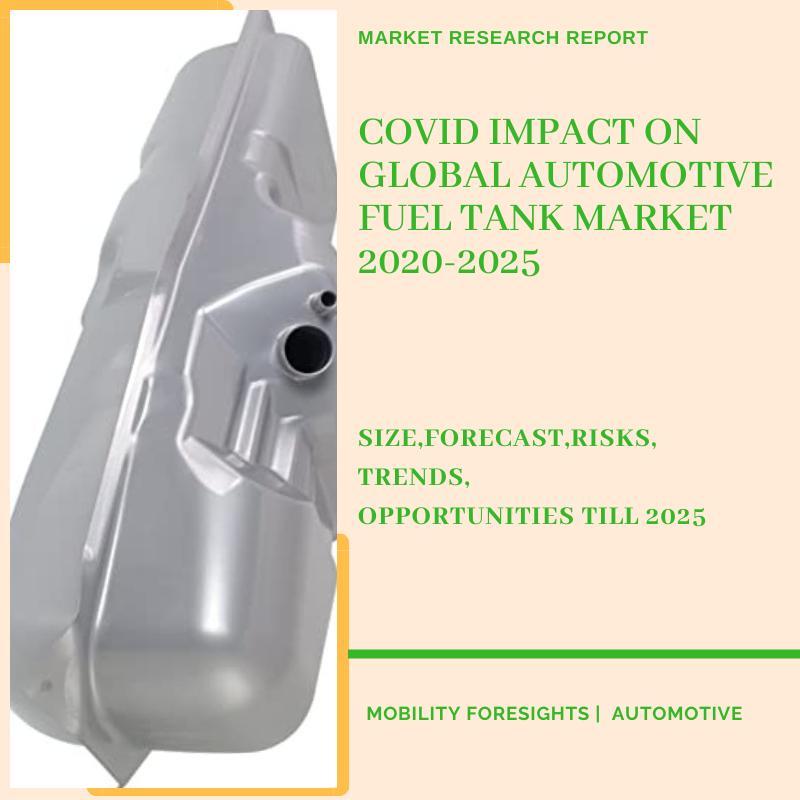 COVID Impact On Global Automotive Fuel Tank Market 2020-2025