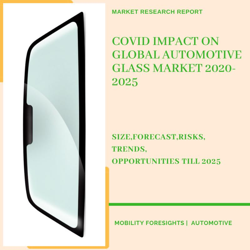 COVID Impact On Global Automotive Glass Market 2020-2025