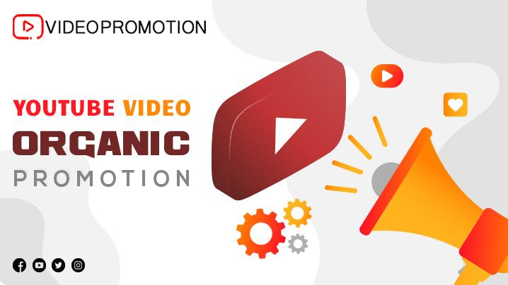 YouTube video organic promotion