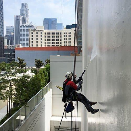 Exterior Building Cleaning