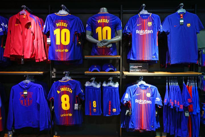 Licensed Sports Merchandise Market