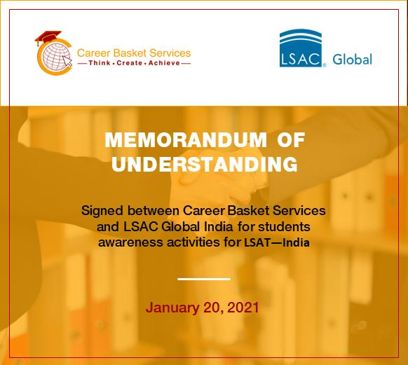 LSAC - Global and Career Basket Services (CBS) have announced a new cooperation agreement to boost Student Awareness activities fo