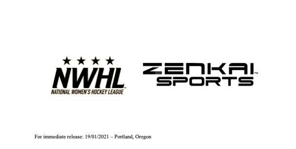 Zenkai Sports Official Performance Apparel Partner of the NWHL
