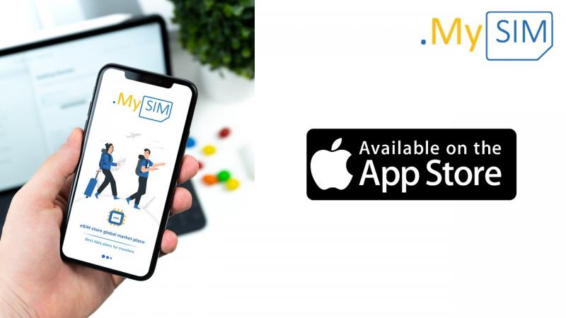 download the eSIM to your iPhone in 2 clicks