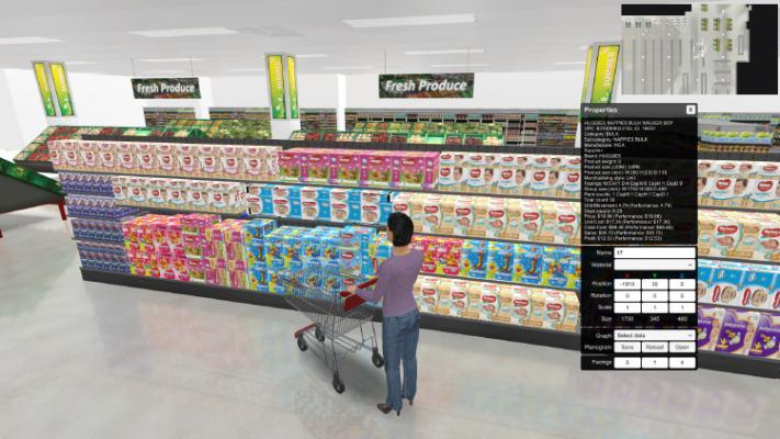 3D Retail Merchandising Software
