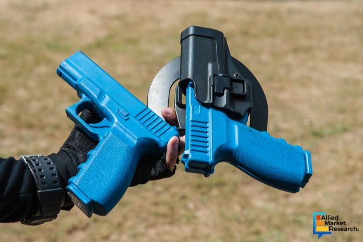 Non-Lethal Weapons Market to Reach $9,656 Million, Globally,