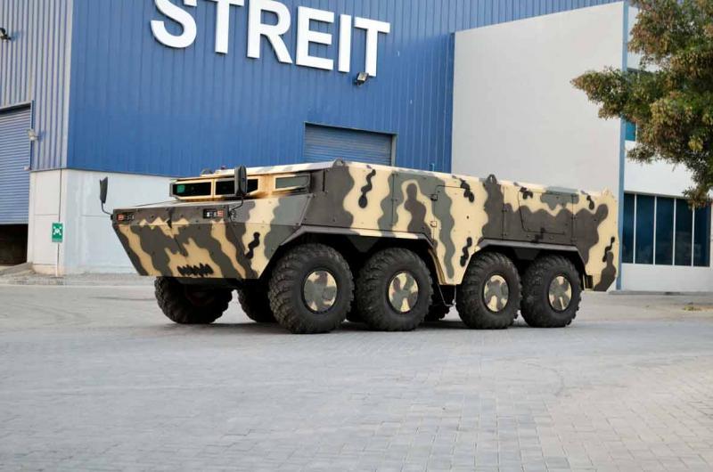 8x8 Armored Vehicle