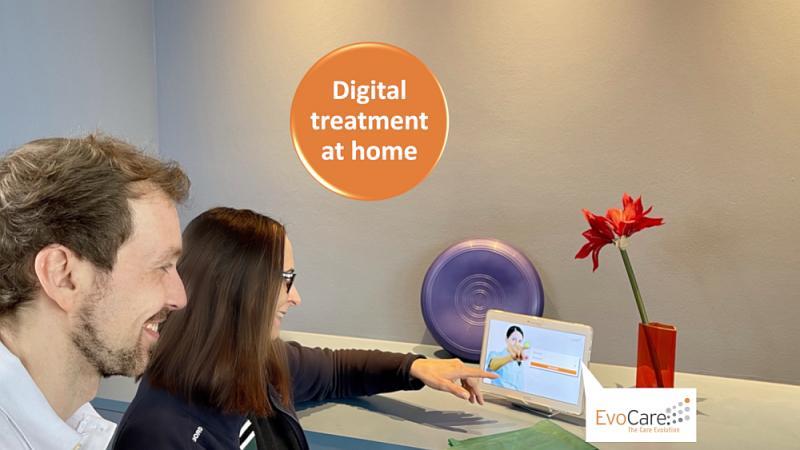Digital EvoCare® treatment at home