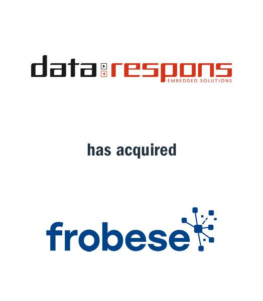 ARTHOS advises Data Respons AS on its acquisition of frobese GmbH