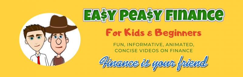 A kid-friendly resource breaking down complex financial terms in a way that even kids & beginners can easily understand