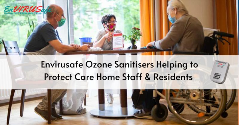 Ozone is the most powerful disinfectant known to man and is now being used in Residential Care Homes in their fight against corona