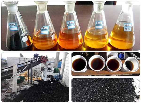 Plastic Waste to Oil