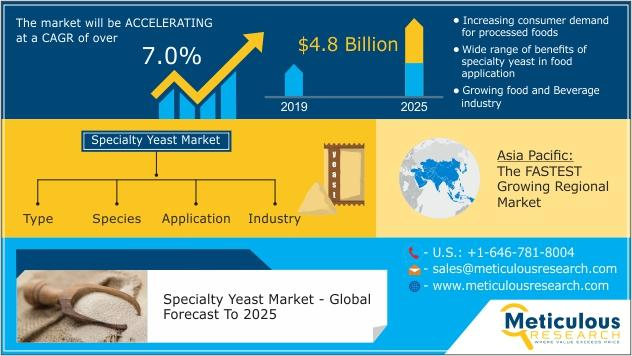 Specialty Yeast Market by Type , Application , Species ,